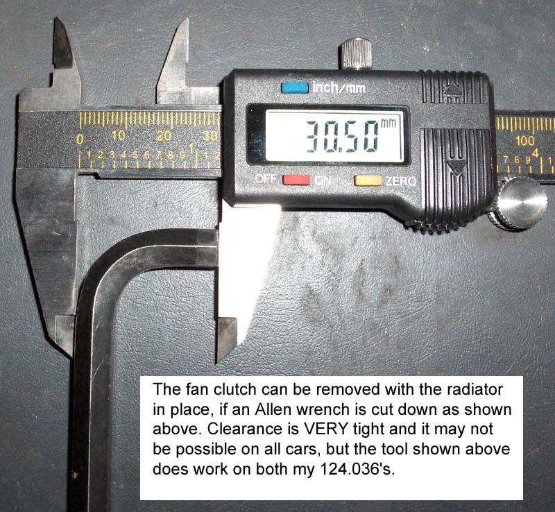 Bmwpressor: Fan Clutch Holding Tool Harbor Freight
