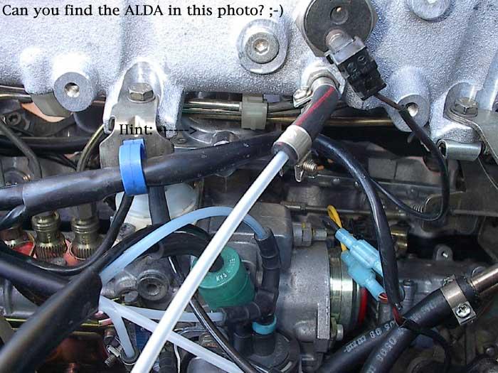 OM603 ALDA removal instructions  PeachParts Mercedes ShopForum