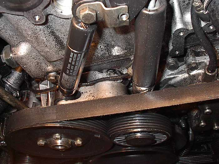 Service manual how to replace timing tensioner 1998 for Mercedes benz timing belt