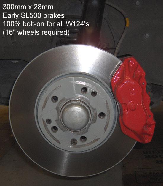 w124 brake booster master cylinder upgrade mbworld org