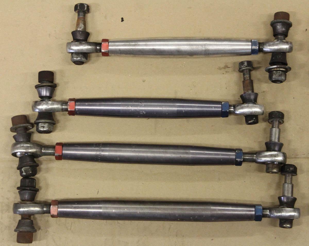 Adjustable Frame Joints : Renntech rear subframe upgrade adjustable heim joint