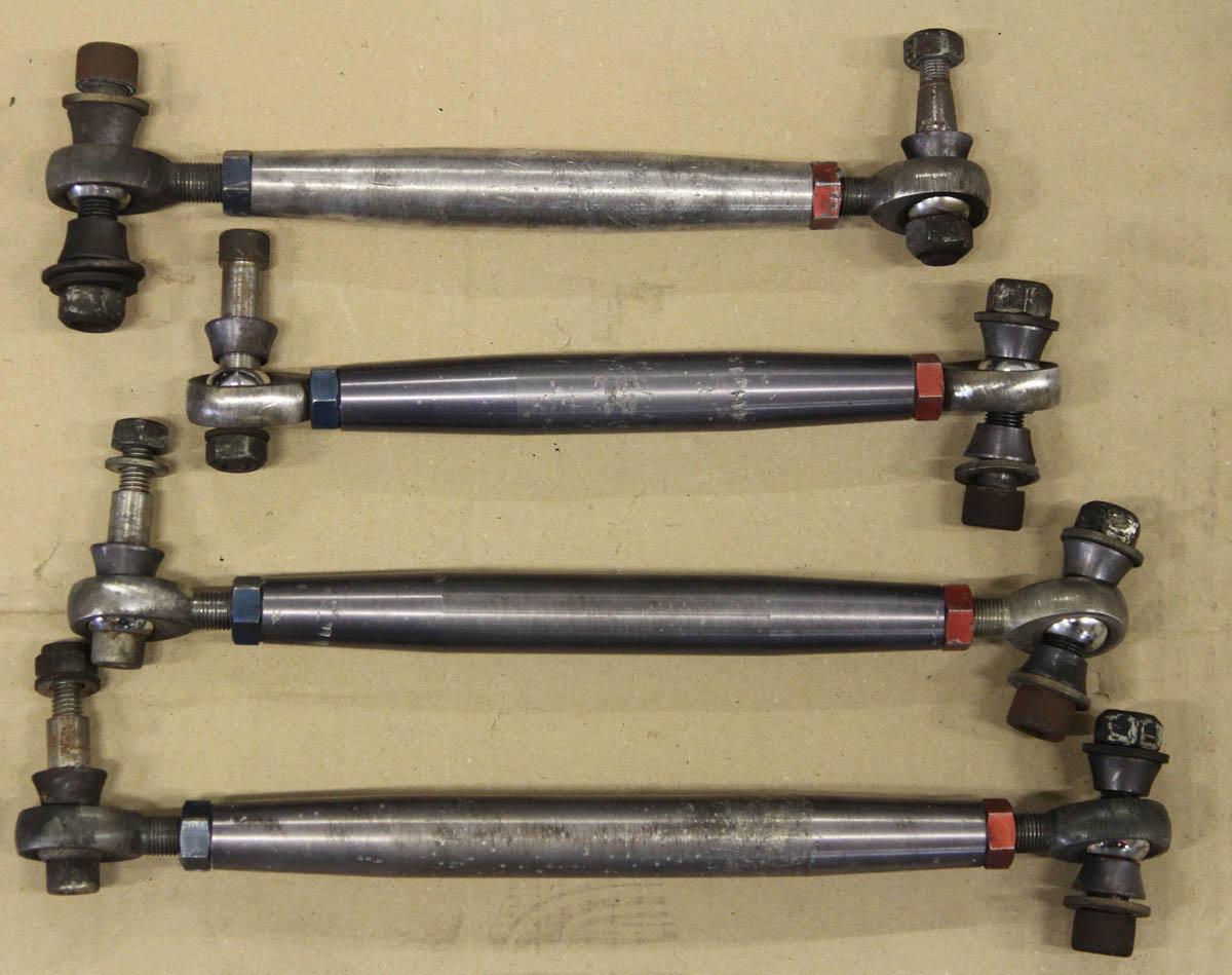 Adjustable Frame Joints : Renntech rear subframe upgrade adjustable heim joint links