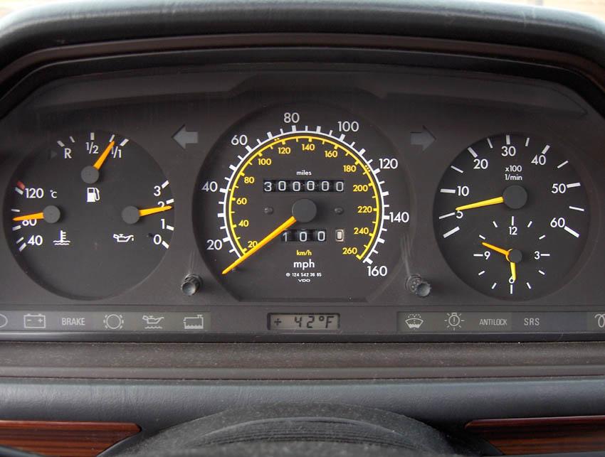 highest mileage 300EW124  PeachParts Mercedes ShopForum
