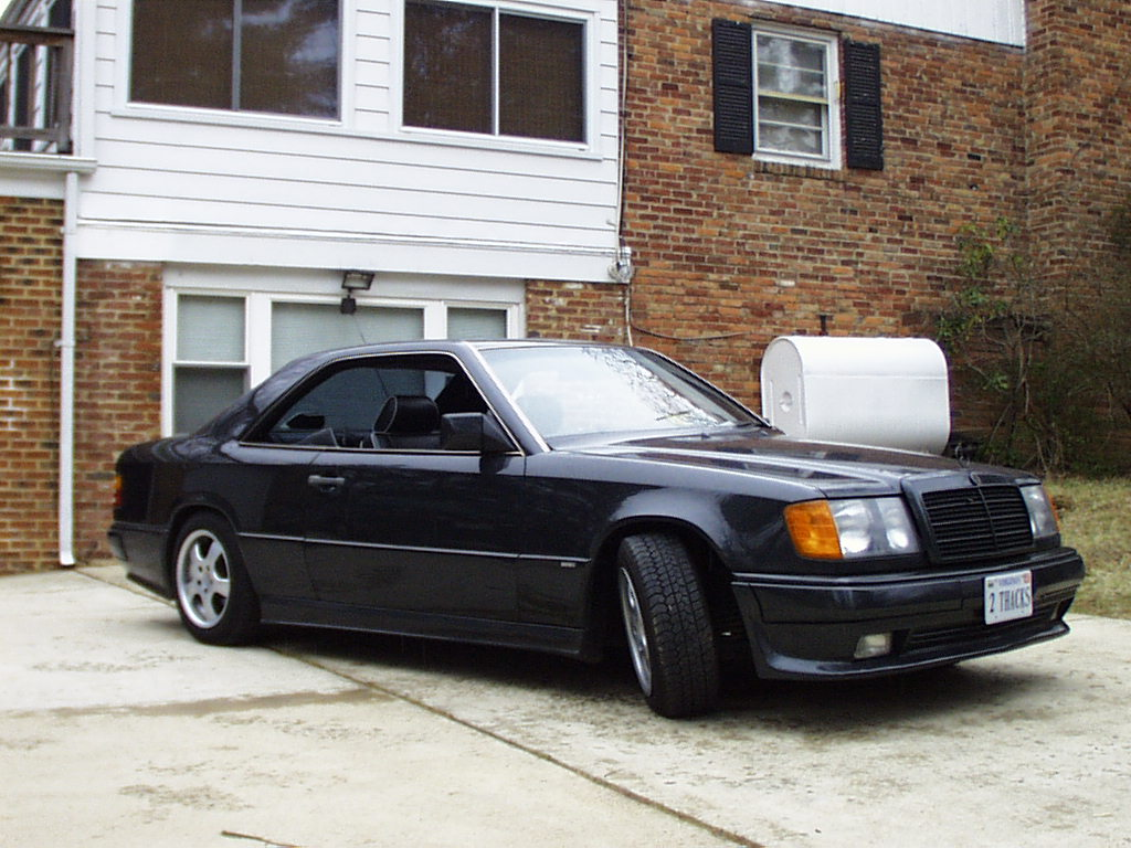 1988 mercedes benz 300 ce 3 6 coupe customized by brabus. Black Bedroom Furniture Sets. Home Design Ideas